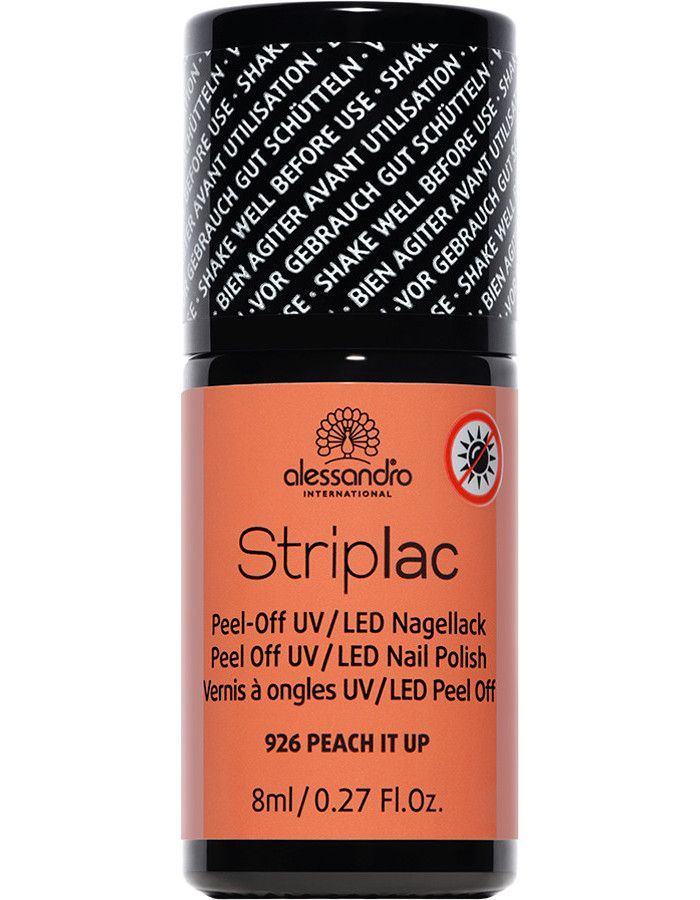 Alessandro Striplac 926 Peach It Up 8ml