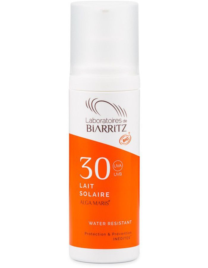 Algamaris Biologische Zonnebrand Lotion Spf30 100ml