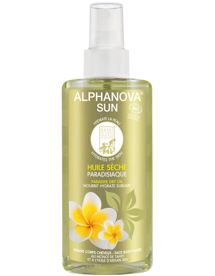 Alphanova Sun Biologische Paradise Dry Oil Spray 125ml