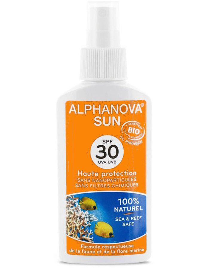 Alphanova Sun Biologische Zonnebrand Spray Spf30 125ml