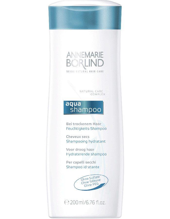 Annemarie Börlind Aqua Vegan Shampoo Hydraterend Droog Haar 200ml