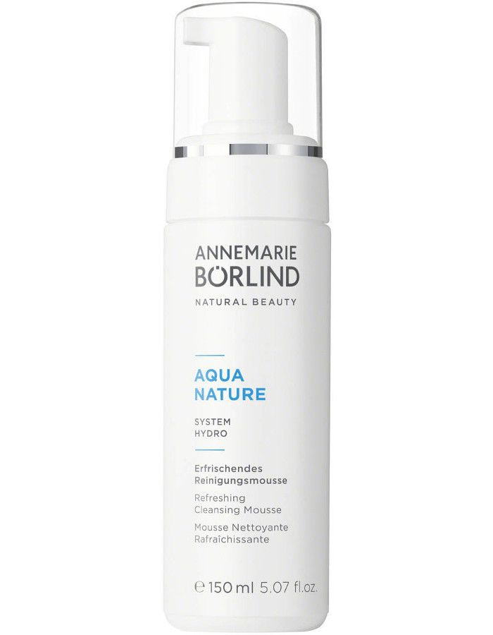 Annemarie Borlind Aquanature Refreshing Cleansing Mousse 150ml