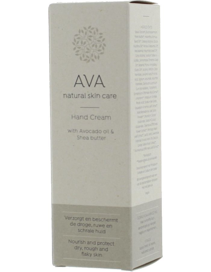 AVA Natural Skin Care Hand Cream Avocado Sheabutter 50ml