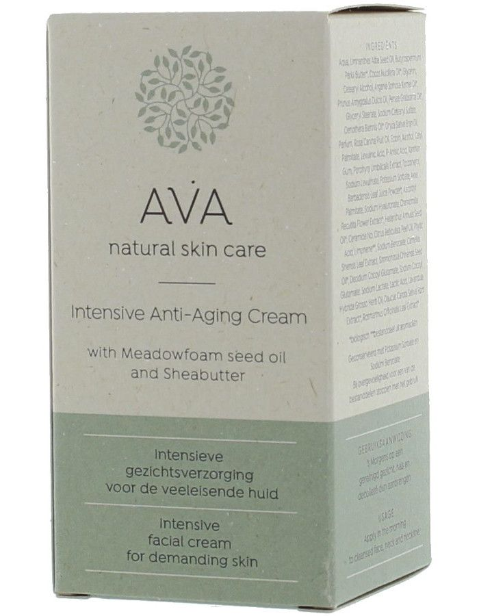 AVA Natural Skin Care Intensive Anti Aging Crème 50ml