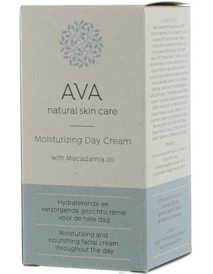 AVA Natural Skin Care Moisturizing Day Cream 50ml