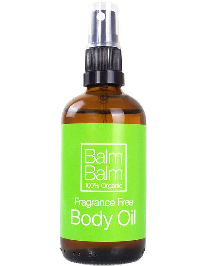 Balm Balm 100% Organic Body Olie Ongeparfumeerd 100ml