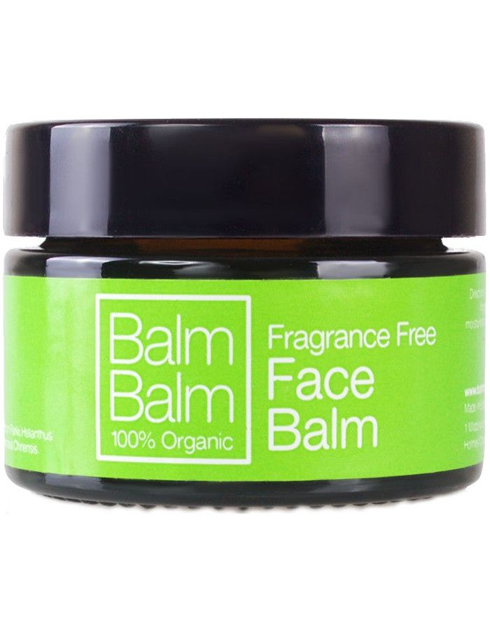 Balm Balm Organic Face Balm Fragrance Free 30ml