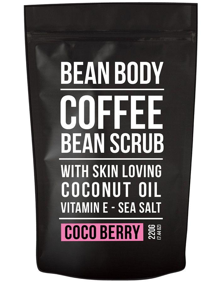 Bean Body Coffee Bean Vegan Body Scrub Coco Berry 220gr