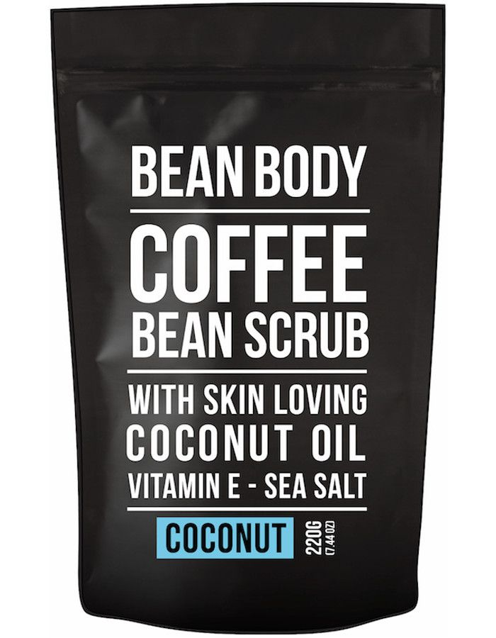 Bean Body Coffee Bean Vegan Body Scrub Coconut 220gr