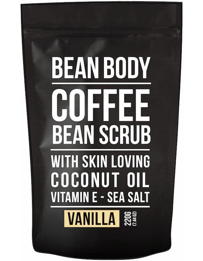 Bean Body Coffee Bean Vegan Body Scrub Vanilla 220gr