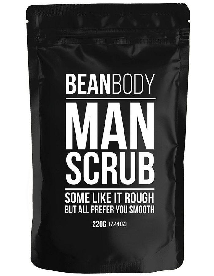 Bean Body Coffee Bean Vegan Body Scrub Man 220gr
