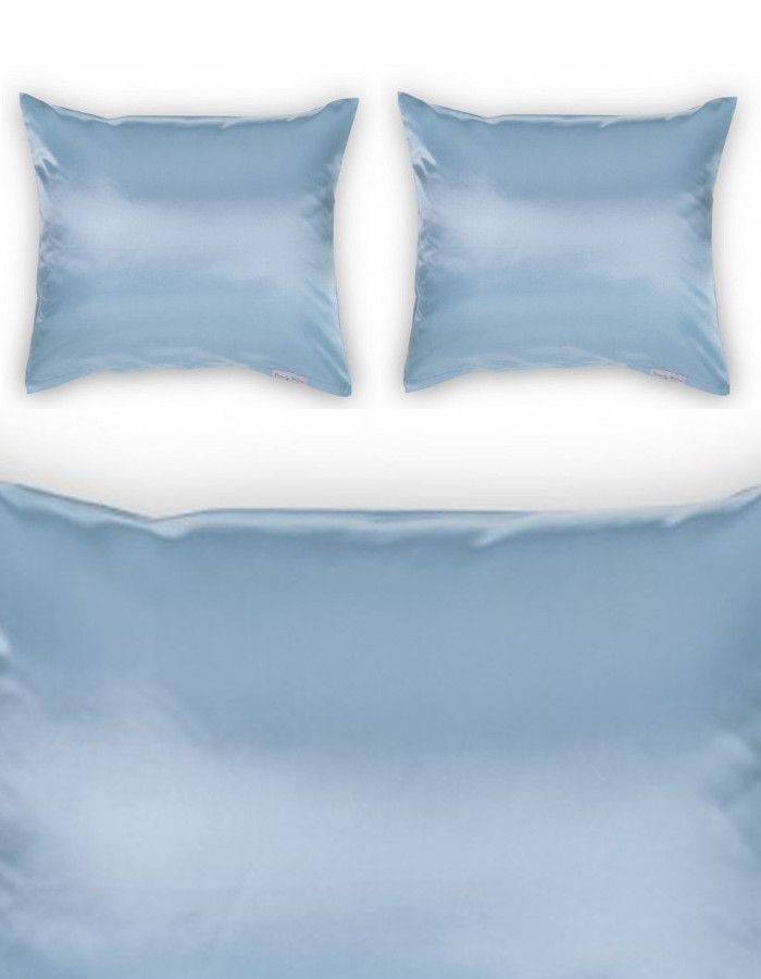 Beauty Pillow Dekbedovertrek Set Old Blue 200x200/220