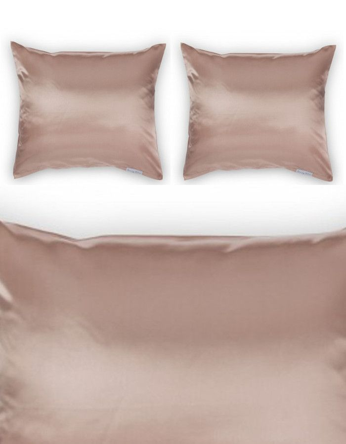 Beauty Pillow Dekbedovertrek Set Peach 200x200/220