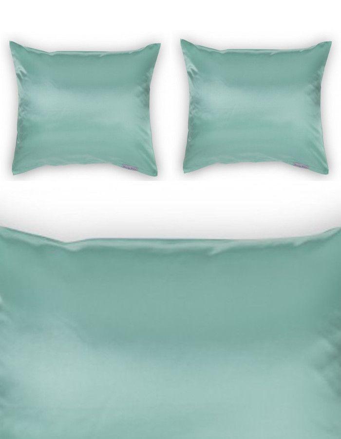 Beauty Pillow Dekbedovertrek Set Petrol 200x200/220
