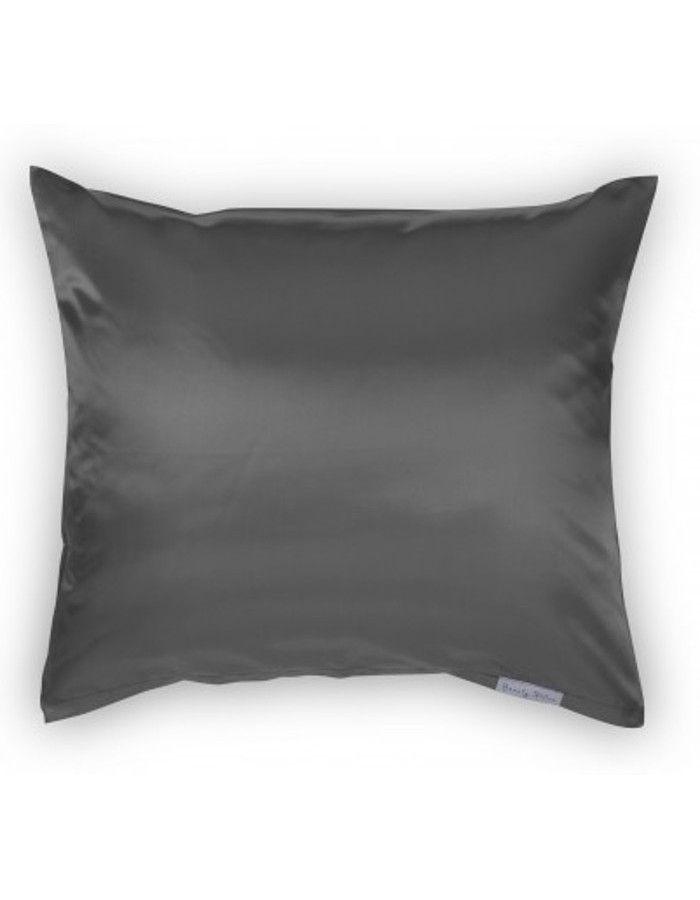 Beauty Pillow Satijnen Kussensloop Antracite 60x70cm