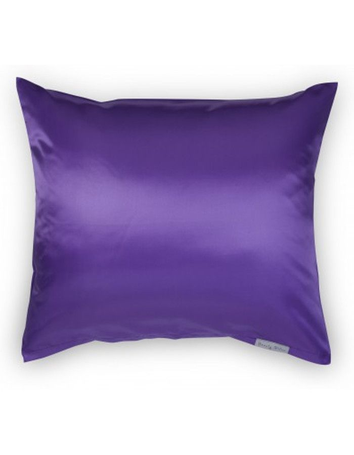 Beauty Pillow Satijnen Kussensloop Aubergine 60x70cm