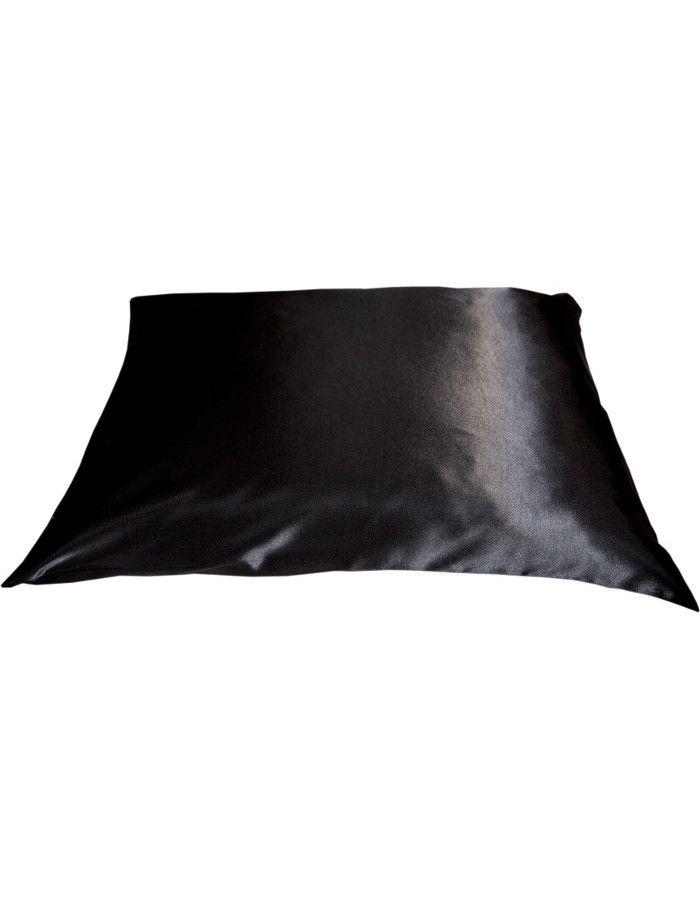 Beauty Pillow Satijnen Kussensloop Black 60x70cm