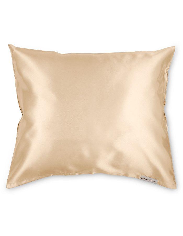 Beauty Pillow Satijnen Kussensloop Champagne 60x70cm
