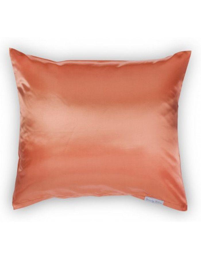 Beauty Pillow Satijnen Kussensloop Living Coral 60x70cm