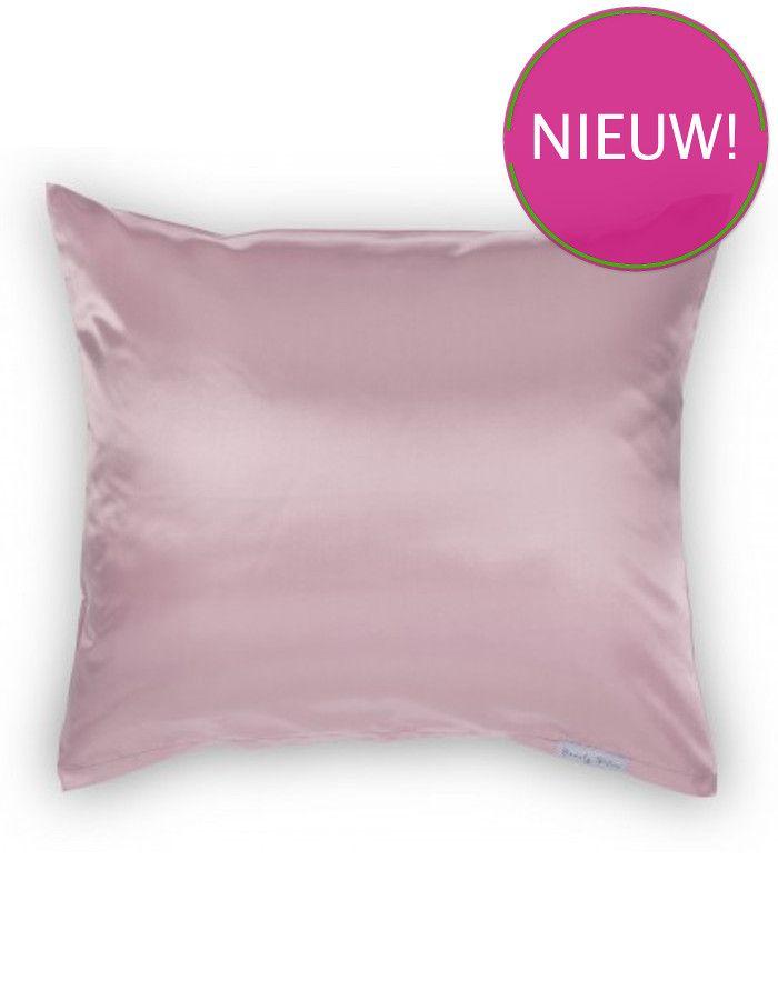 Beauty Pillow Satijnen Kussensloop Old Pink 60x70cm