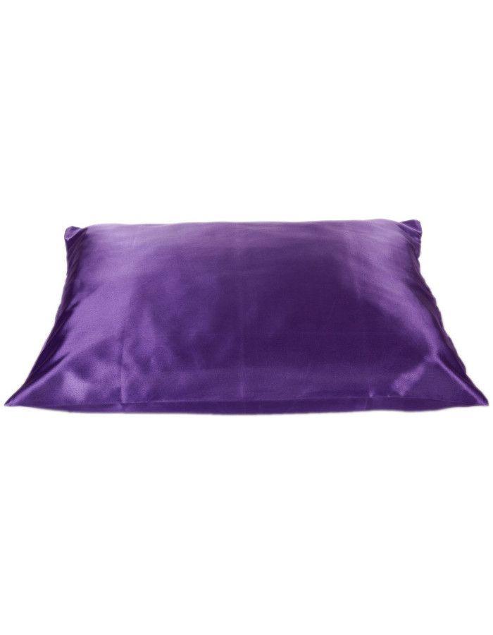 Beauty Pillow Satijnen Kussensloop Purple 60x70cm