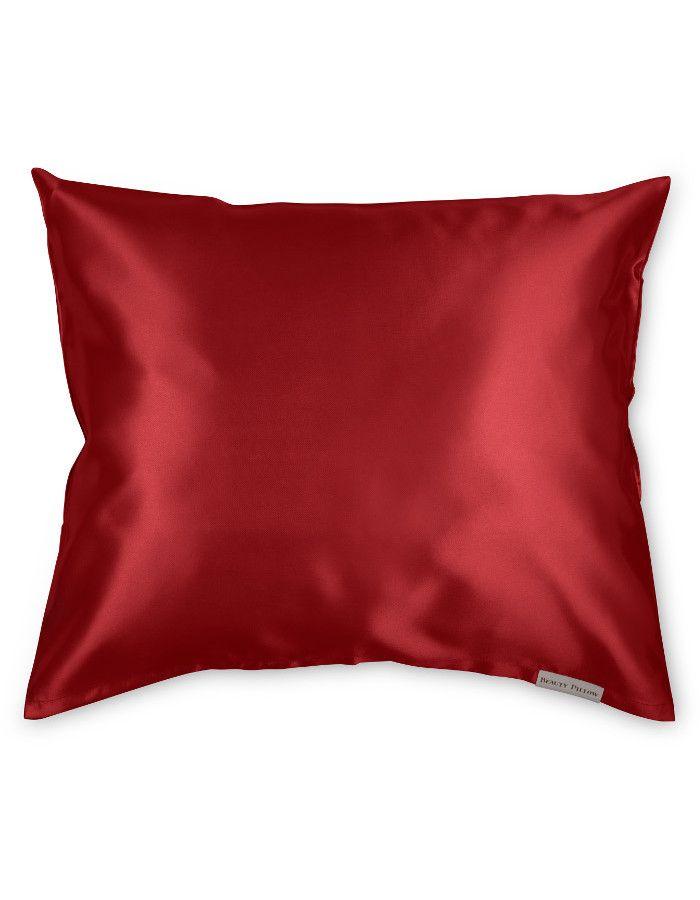 Beauty Pillow Satijnen Kussensloop Red 60x70cm