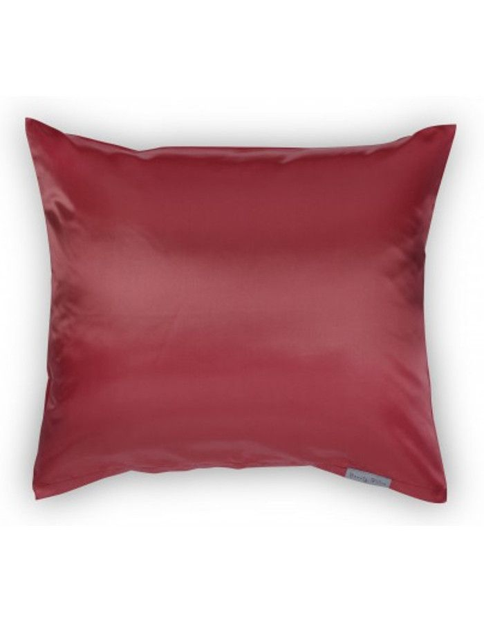 Beauty Pillow Satijnen Kussensloop Red 60x70cm