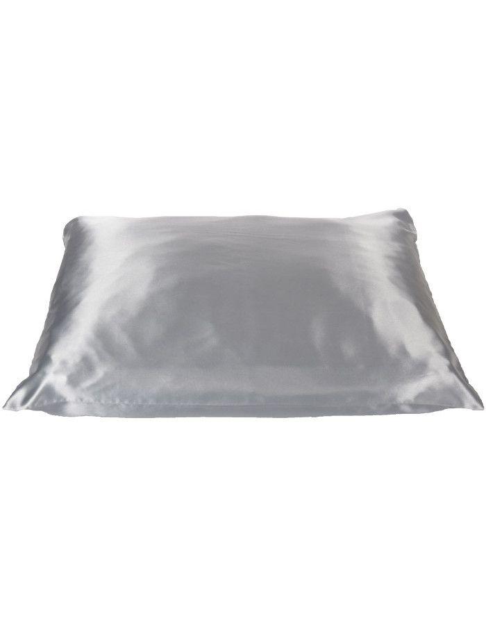 Beauty Pillow Satijnen Kussensloop Silver 60x70cm
