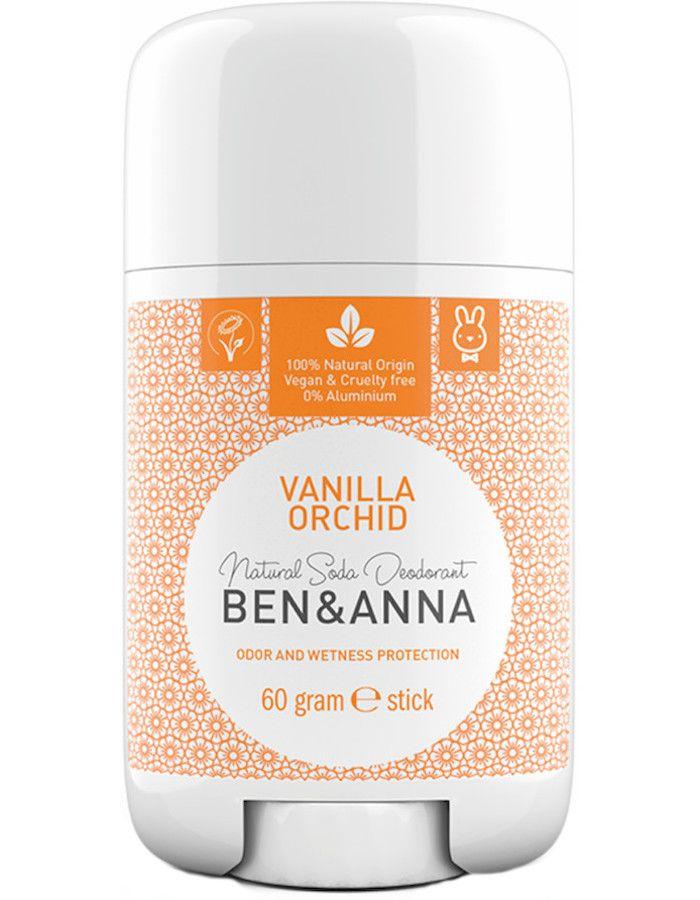 Ben & Anna Natuurlijke Deodorant Stick Vanilla Orchid
