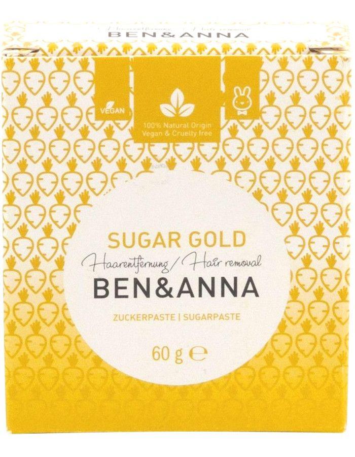 Ben & Anna Sugar Gold Ontharings Suikerpasta 60gr
