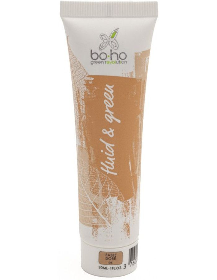 BoHo Cosmetics Bio Fluid En Green Vloeibare Foundation 05 Sable Dore 30ml