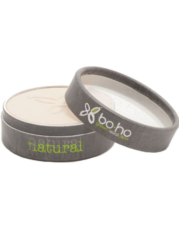 BoHo Cosmetics Natuurlijke Compacte Poeder 01 Beige Diaphane
