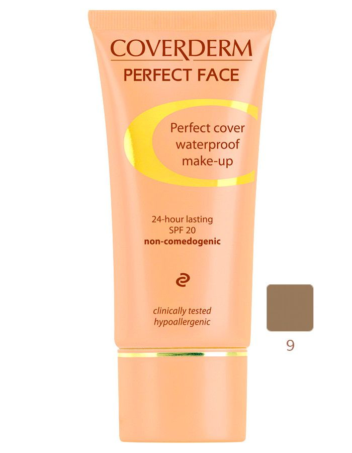 Coverderm Perfect Face Waterproof Make-up Spf20 Nr 09 30ml