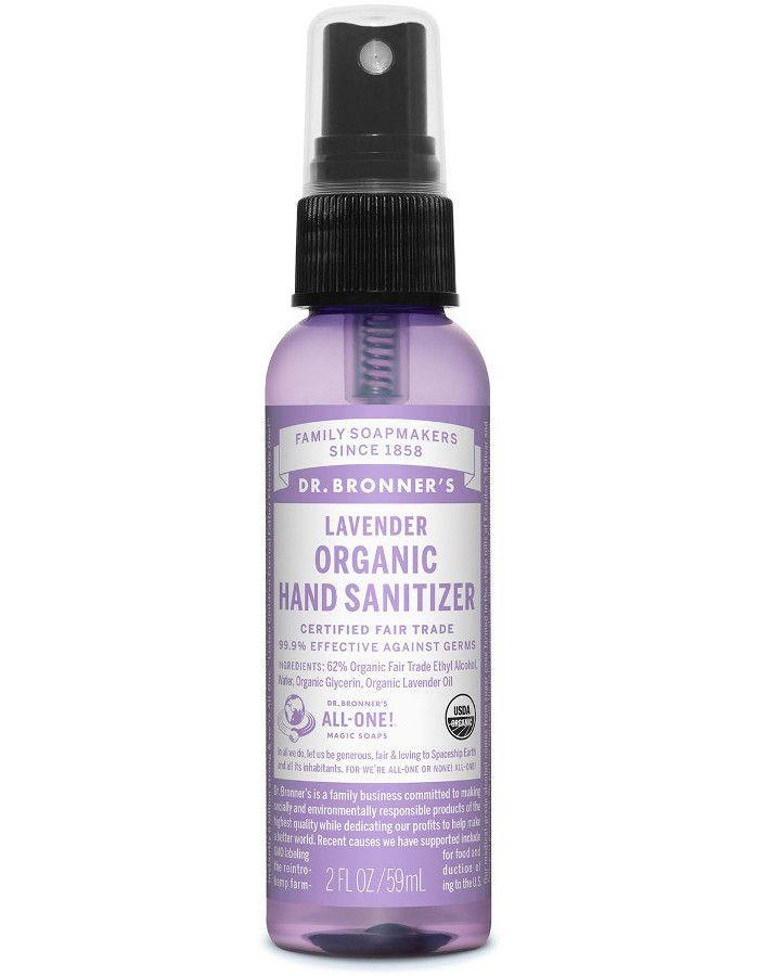 Dr Bronners Organic Hand Sanitizer Lavendel 59ml