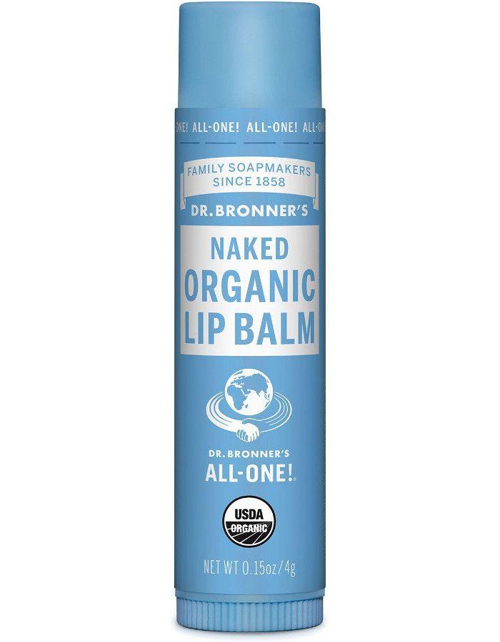 Dr Bronners Organic Lipbalm Naked Ongeparfumeerd