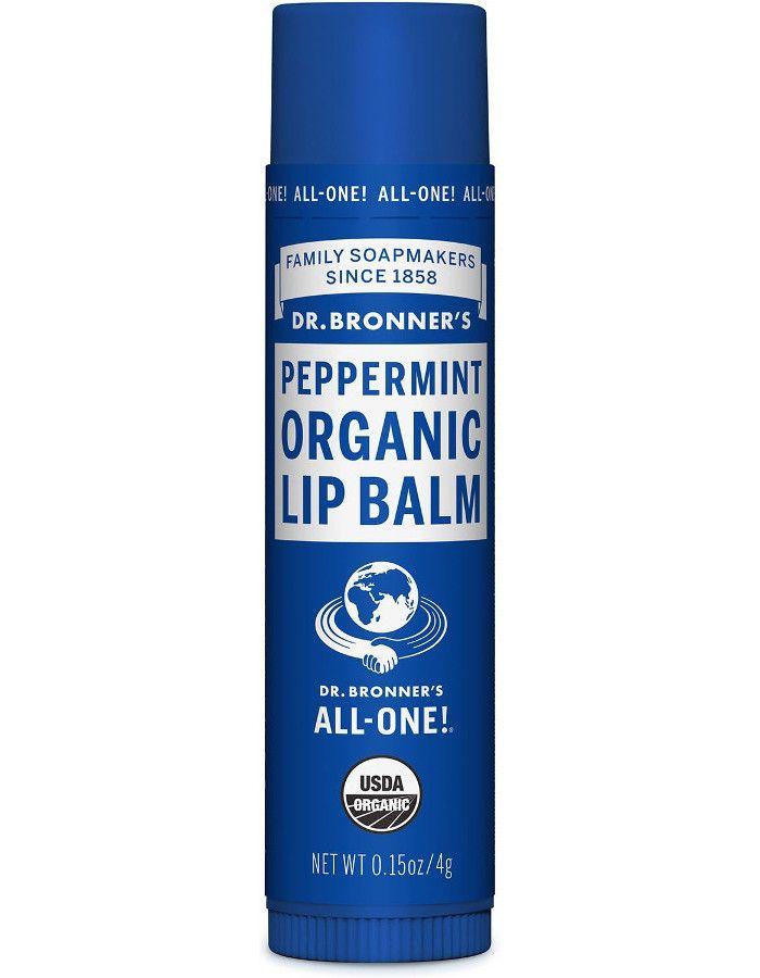 Dr Bronners Organic Lipbalm Peppermint