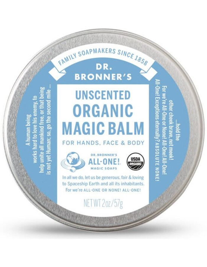 Dr Bronners Organic Magic Balm Unscented 57gr