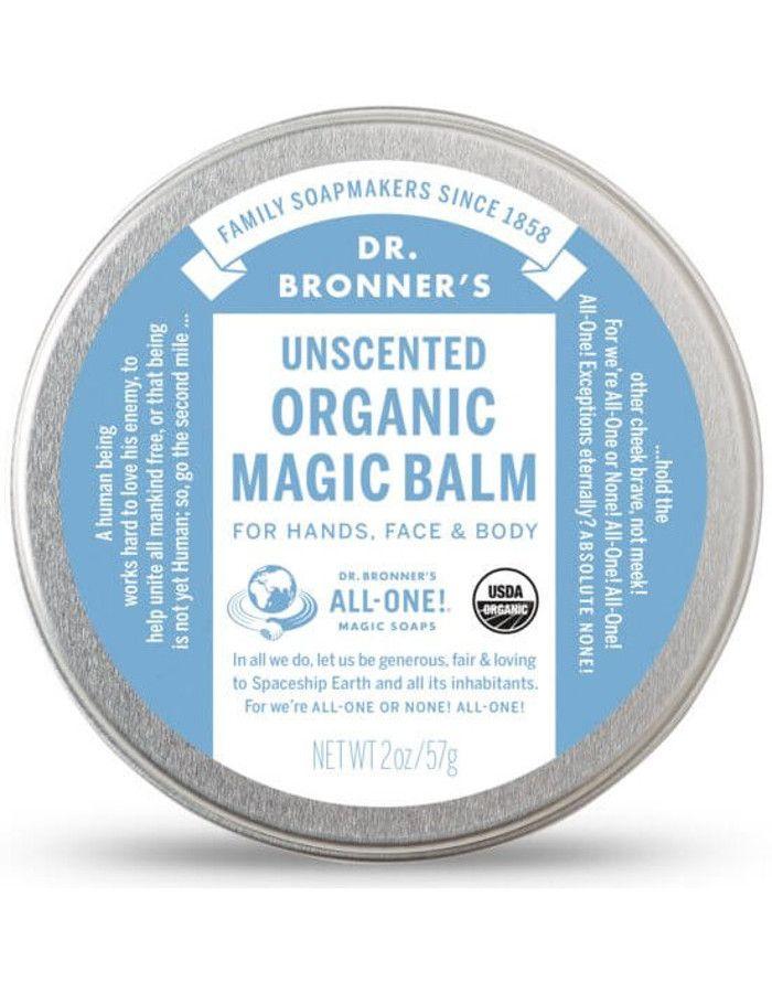 Dr Bronners Organic Magic Balm Unscented 57gr