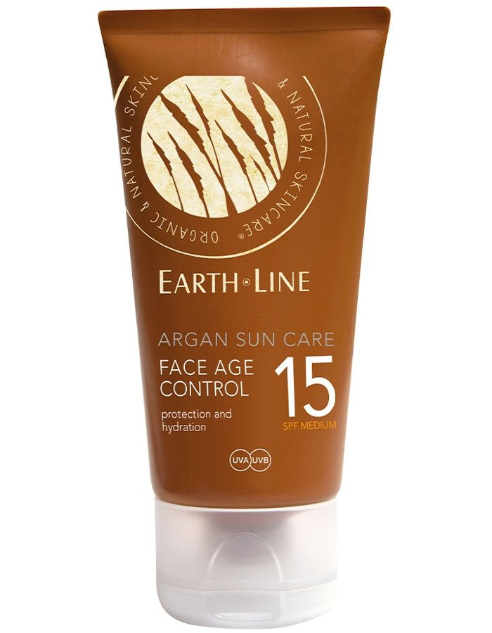 Earth Line Argan Sun Care Face Age Control Spf15 50ml
