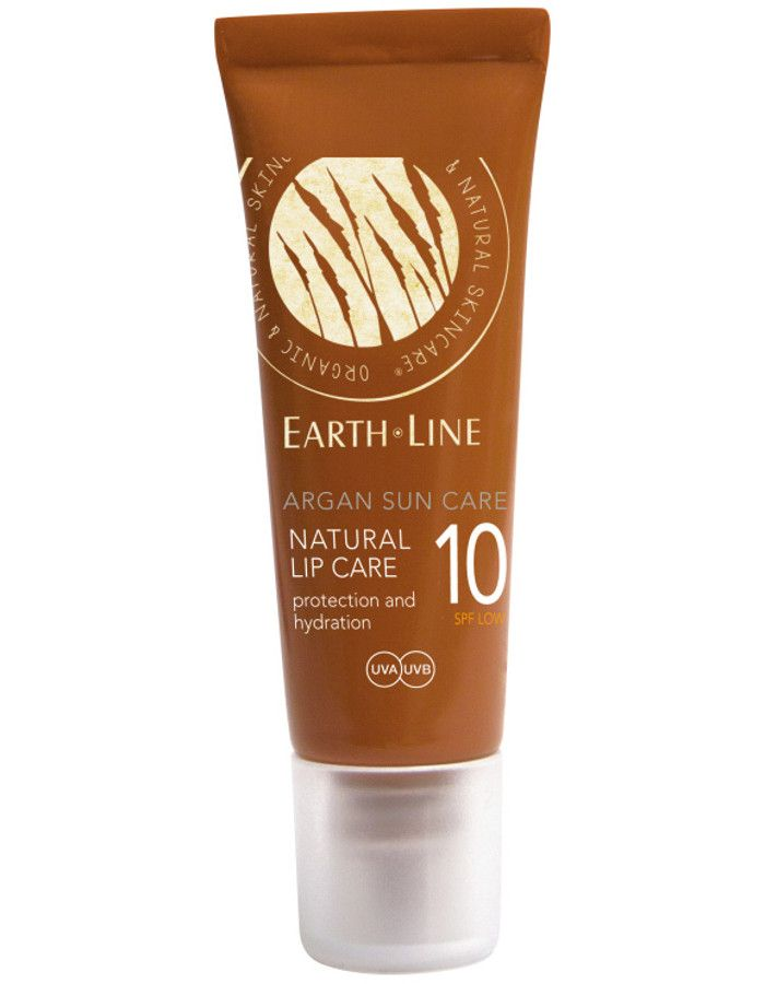 Earth Line Argan Sun Care Natural Lip Care Spf10 10ml