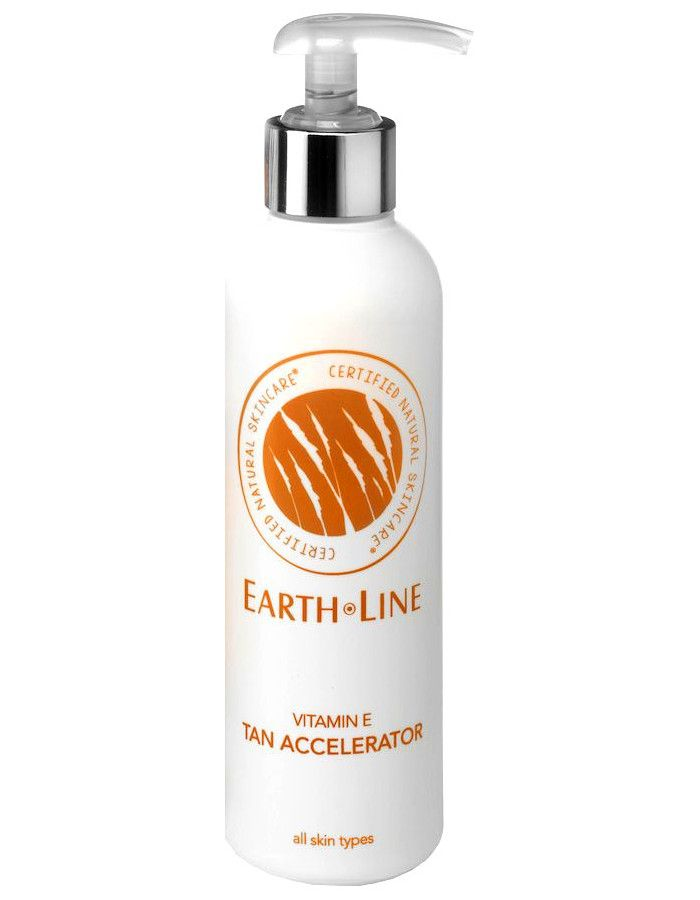 Earth Line Vitamine E Zonnebank Snelbruiner 200ml