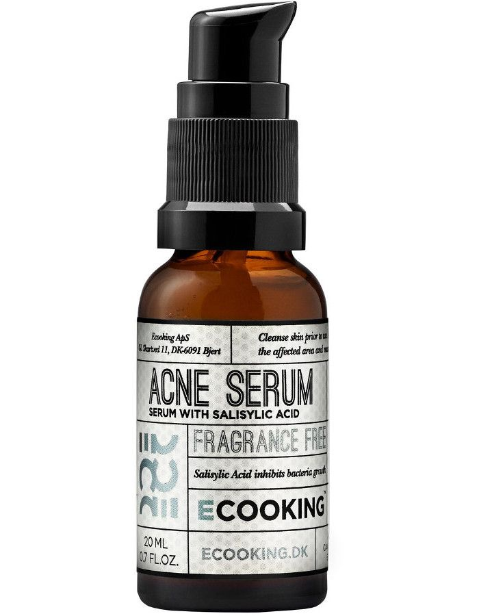 Ecooking Acne Serum Fragrance Free 20ml
