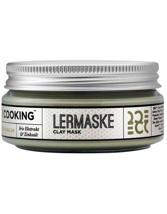 Ecooking Clay Masker Iris Extract & Zink 100ml