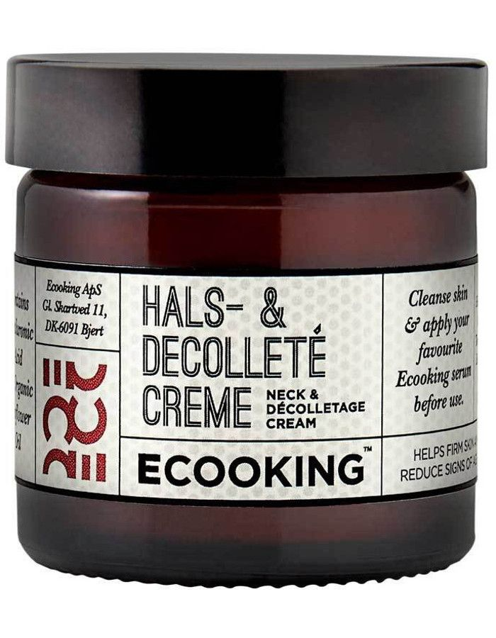 Ecooking Hals & Decolleté Cream 50ml