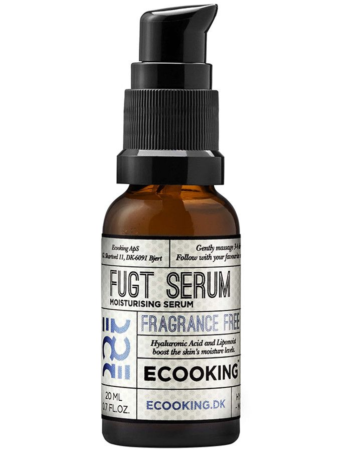 Ecooking Moisturizing Serum Fragrance Free 20ml