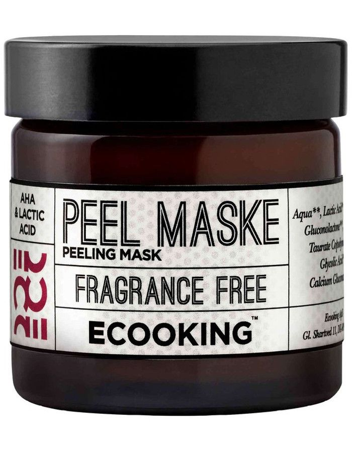 Ecooking Peeling Masker Fragrance Free 50ml