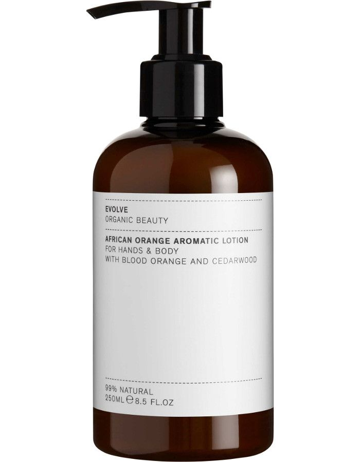 Evolve Organic Beauty African Orange Aromatic Hand & Body Lotion 250ml