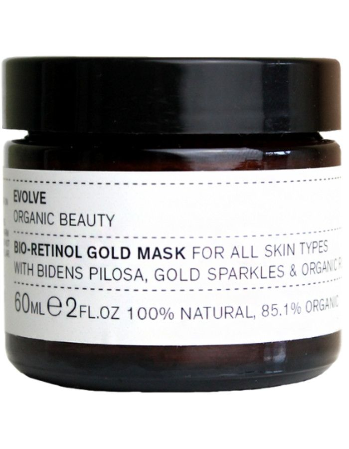 Evolve Organic Beauty Bio Retinol Gold Mask 60ml