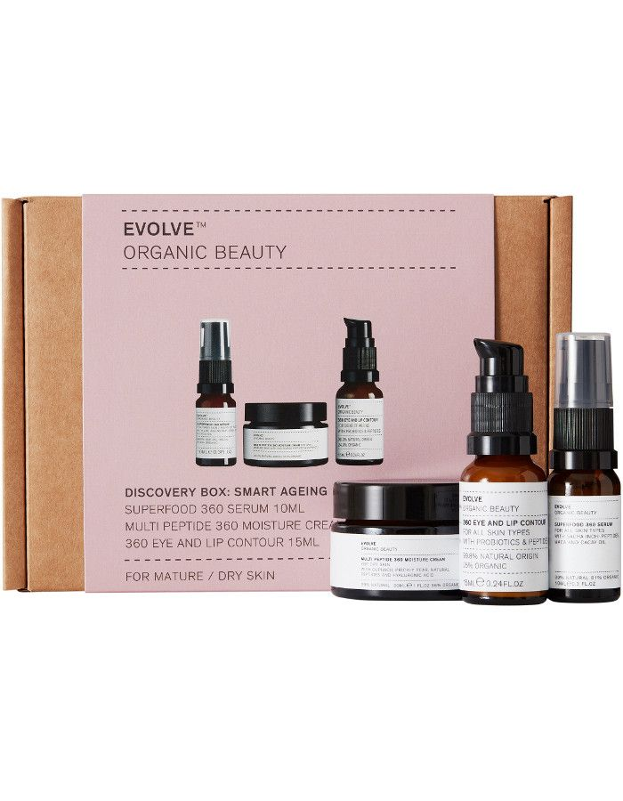 Evolve Organic Beauty Discovery Box Smart Aging 3-Delig