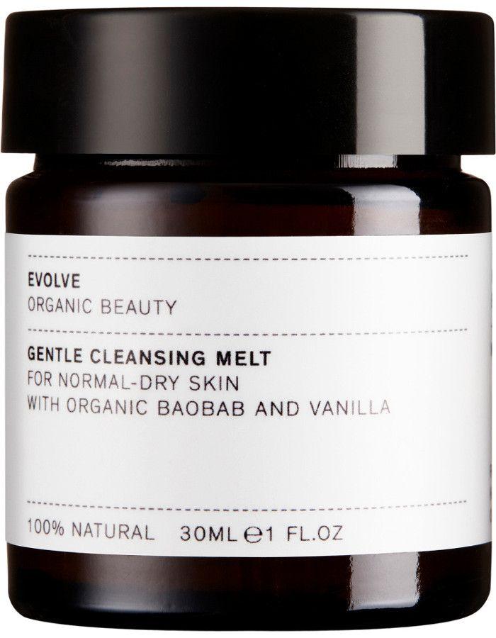 Evolve Organic Beauty Gentle Cleansing Melt Travel Size 30ml